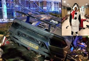 West Ham'li futbolcu lüks aracıyla kaza yaptı