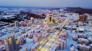 Kuzey Kore'nin 'sosyalist ütopyası' Samjiyon kenti açıldı
