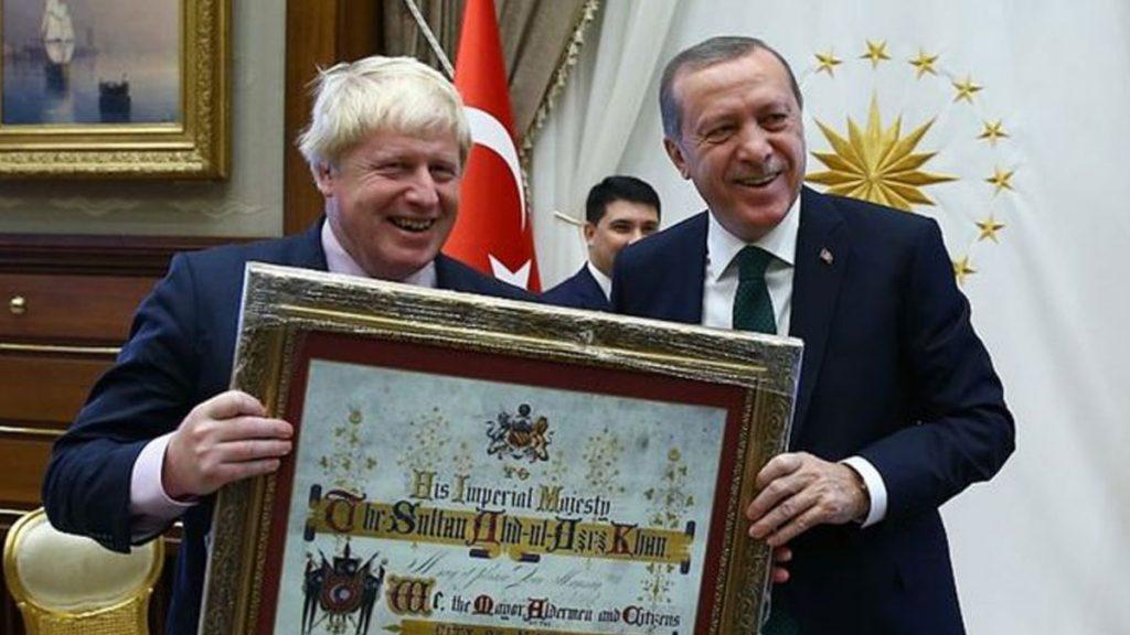 """""""Boris Johnson'da biraz Türklük var"""""""