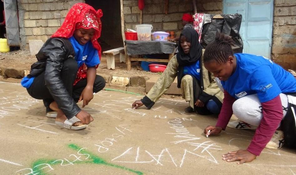 Kenyalı kadınlar sokakta cinsel tacize savaş açtı