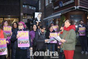 Toplum üyelerimiz tacize ve şiddete karşı eylem yaptı