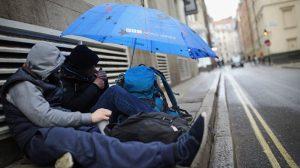 İngiltere'de evsizlerin sayısı bir yılda yüzde 23 arttı