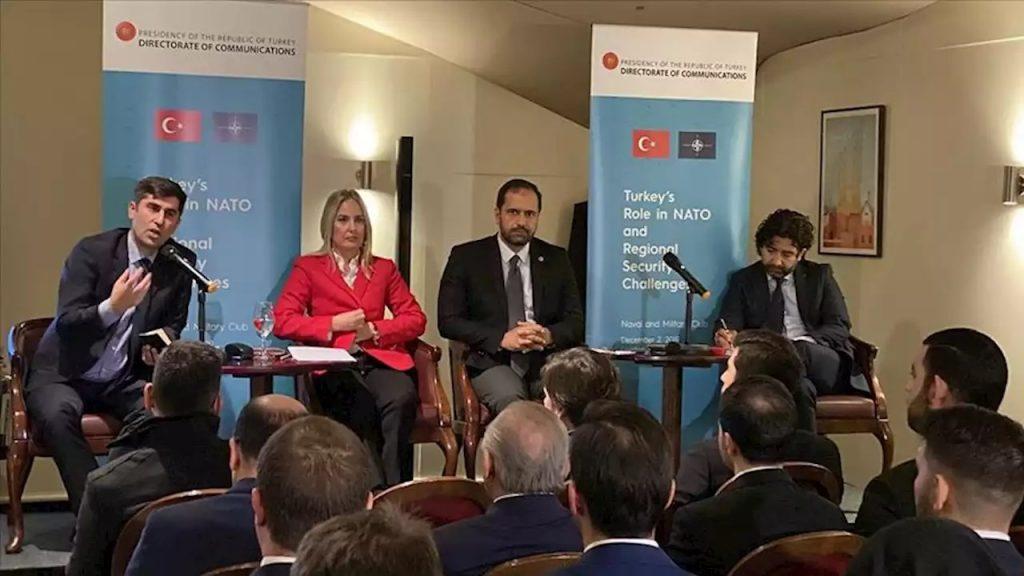 Türkiye ve NATO ilişkileri Londra'daki panelde ele alındı