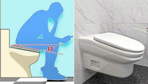 Çalışanlar fazla vakit geçirmesin diye 5 dakikadan fazla oturulamayacak tuvalet tasarladı