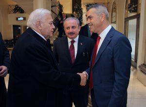 KKTC Cumhuriyet Meclis Başkanı Uluçay Azerbaycanlı mevkidaşıyla görüştü