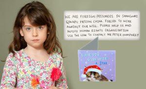 Tesco'nun sattığı Noel kartından Çin'deki bir mahkumun 'yardım edin' mesajı çıktı
