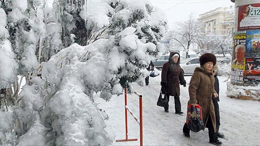 Ukrayna'da bir Türk donarak öldü