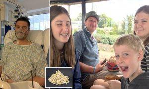 İngiltere'de dişine patlamış mısır sıkışan adama açık kalp ameliyatı