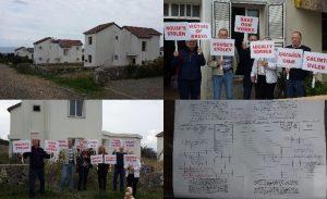KKTC'de ev alan İngilizler ipotek yüzünden evsiz kaldı