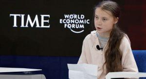 Greta iklim değişikliği farkındalığı için Davos'tan seslendi