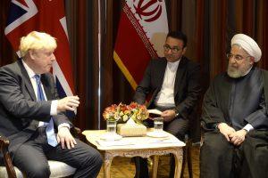 Johnson, Ruhani'den düşmanlıklara son verilmesini istedi