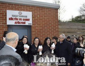 Tugay Hurman adına kültür ve sanat atölyesi açıldı