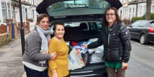 Londralı hayırseverlerden Kuzey Kıbrıs'taki engellilere yardım