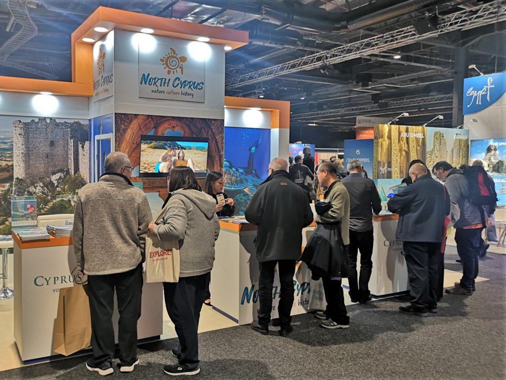 Cyprus Paradise Kuzey Kıbrıs'ı tanıtmak için Manchester'daki fuara katıldı