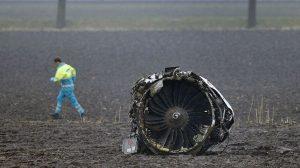 Amsterdam'da düşen THY uçağı ile ilgili Hollanda'da soruşturma