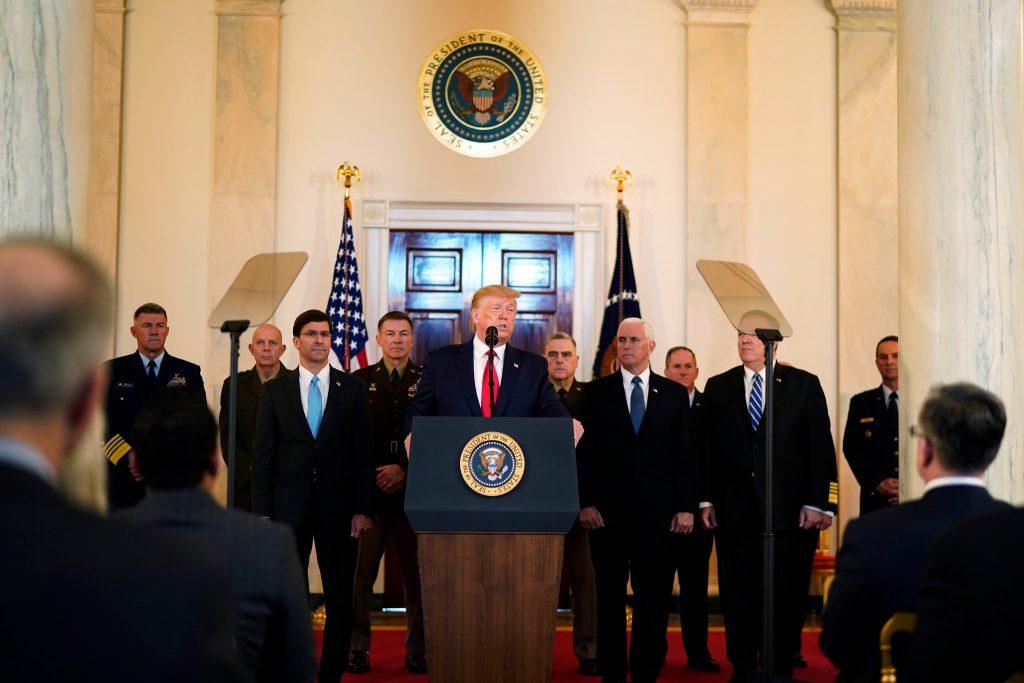 İran'ın füzeli intikamı sonrası Trump açıklamada bulundu