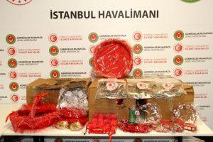Kına malzemeleri içinde İstanbul'dan Avustralya ve İngiltere'ye uyuşturucu sevkiyatı