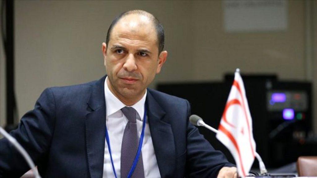 KKTC Dışişleri Bakanı Özersay Londra'da