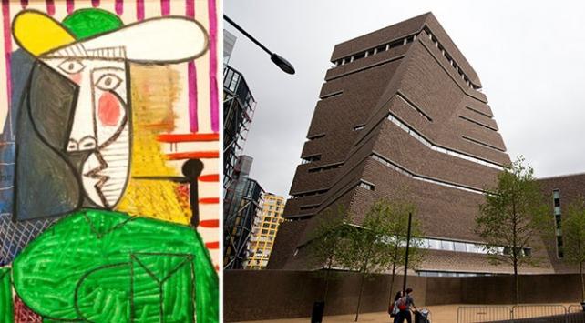 Picasso'nun 20 milyon poundluk tablosu İngiltere'de saldırıya uğradı