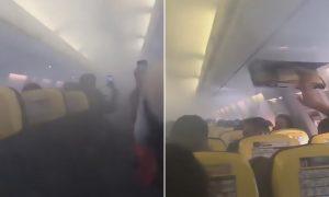 Londra'ya gelen yolcu uçağında korku dolu anlar