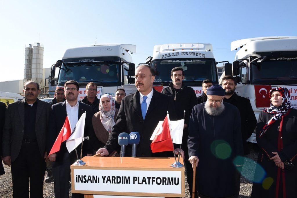 İngiltere'deki Türklerden İdlib'e 300 bin liralık yardım