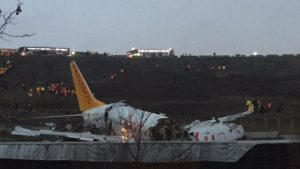 Sabiha Gökçen'deki uçak kazasında ilk acı haber geldi