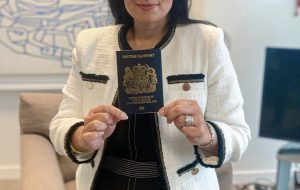 New blue British passport will be issued from next month