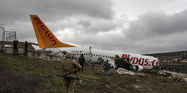 Sabiha Gökçen Havalimani'ndaki uçak kazasina ilişkin ön rapor ortaya çikti
