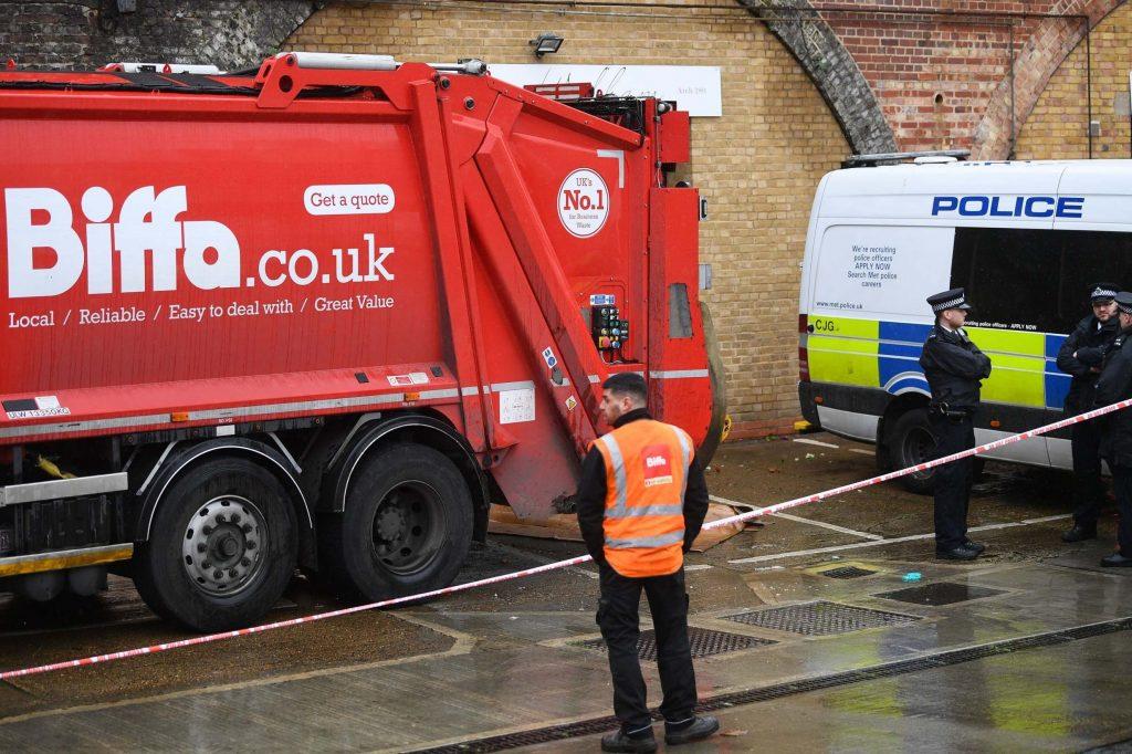 Man's body found in back of bin lorry in South London