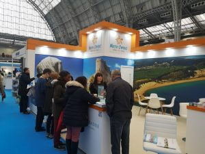 North Cyprus stands at Destinations London 2020