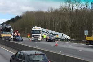 Lorry driver sentenced for M25 fatal lorry crash