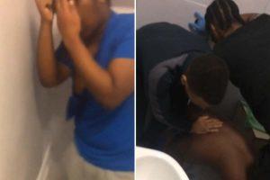 Kız çocuğuna tecavüz eden mahkumun kafasını klozetin içine koyup sifonu çektiler