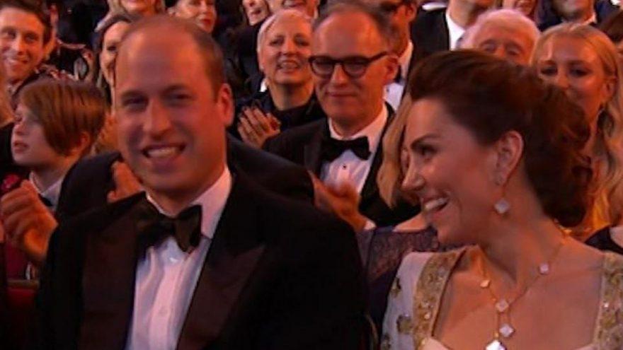 Harry göndermesi William ve Kate'i kahkahaya boğdu