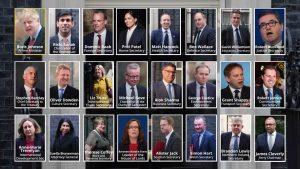 Boris Johnson 11 kabine üyesini değiştirdi