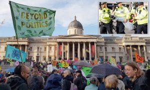 Hükümetin iklim politikası protesto edildi