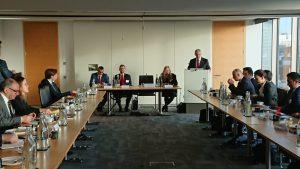 Mansur Yavaş Chatham House'da konuştu