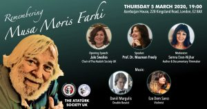 Musa Moris Farhi için anma etkinliği düzenlenecek
