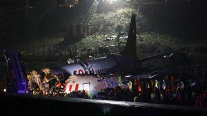 Pegasus Airlines flight skids off runway in Istanbul