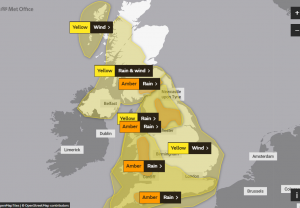 'Danger to life' warning issued ahead of Storm Dennis