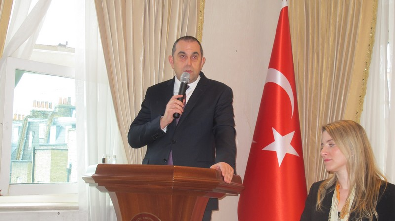 London Consul General Cinar Ergin shared his farewell message