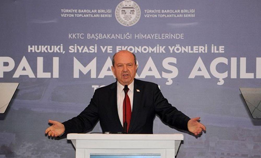 Ersin Tatar Financial Times'a konuştu: Adada kalıcı ayrılığın zamanı geldi
