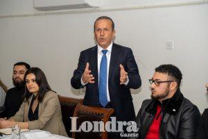 DP Başkanı Fikri Ataoğlu Londra'da temaslarda bulundu