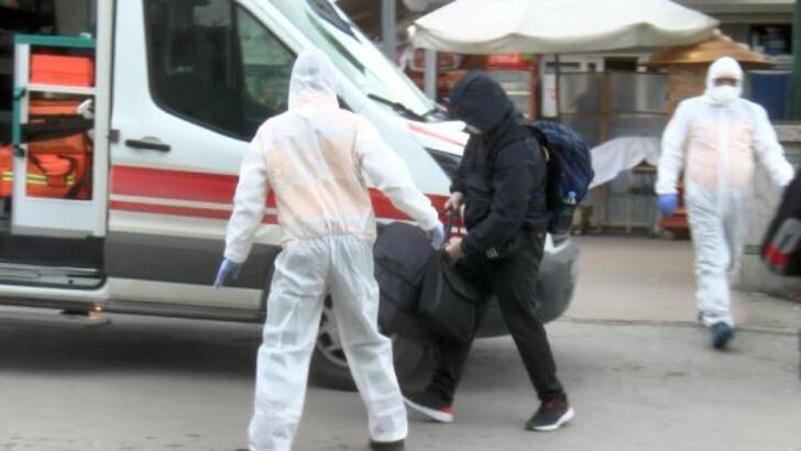 İngiltere'den Ankara'ya giden yolcu ortalığı karıştırdı