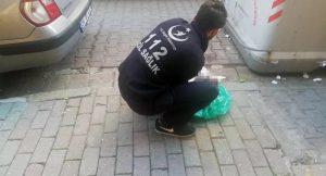 Yeni doğan bebeği ayakkabı kutusu içine koyup çöp konteynerine attılar