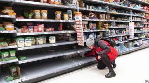 """""""İngiltere'de koronavirüs sebebiyle gıda sıkıntısı yaşanmayacak"""""""