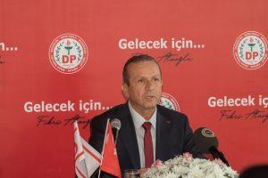 DP leader Fikri Ataoğlu to hold talks in London