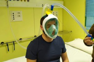 Deniz maskesi ve 3D yazıcıyla solunum cihazı yapımına başlandı