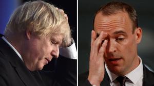 Johnson hasta olursa görevi Dışişleri Bakanı Raab devralacak