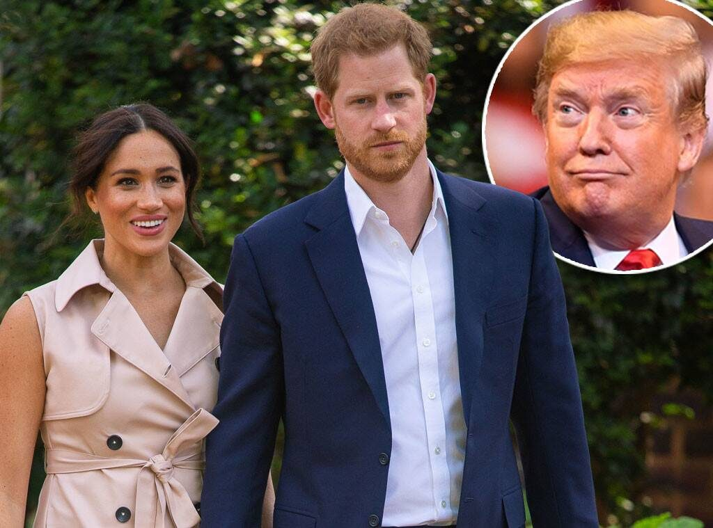 Trump'tan Amerika'ya taşınacak Prens Harry ve eşi Meghan Markle hakkında ilginç çıkış