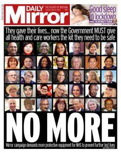 İngiltere'de sağlık çalışanları isyan ediyor